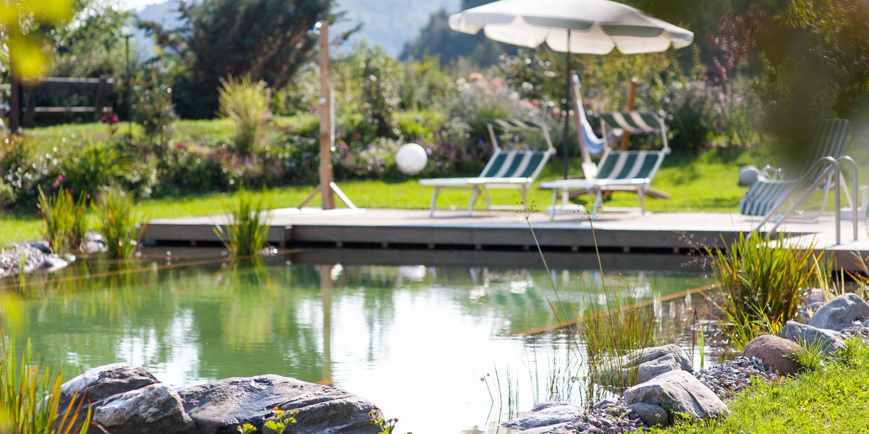 Bauernhof in s dtirol mit natur pool weidacherhof - Die poolbauer ...